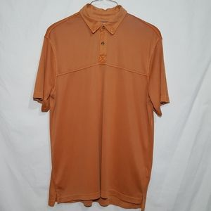 Weatherproof Polo Golf Shirt Size XL Button Up